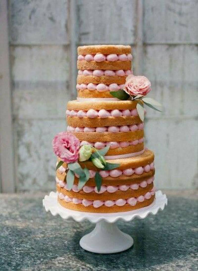 65 ideias de Naked Cake para decorar sua mesa de casamento ...