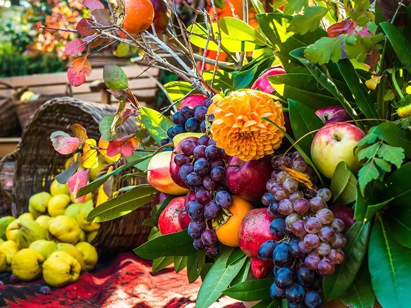 decoracao-com-frutas-para-casamento