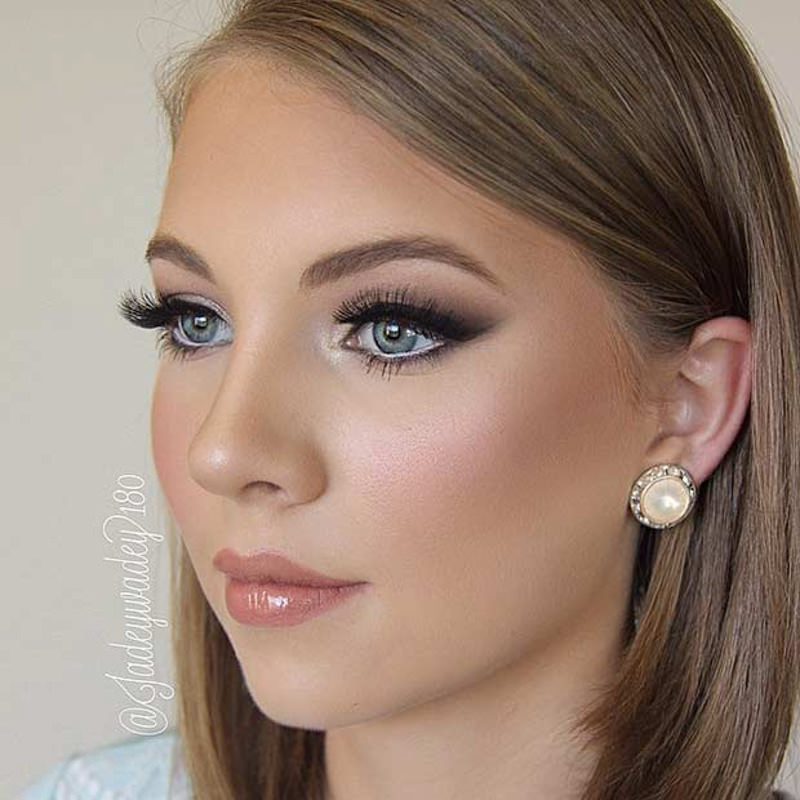 31 belas maquiagens para noivas eNoivado
