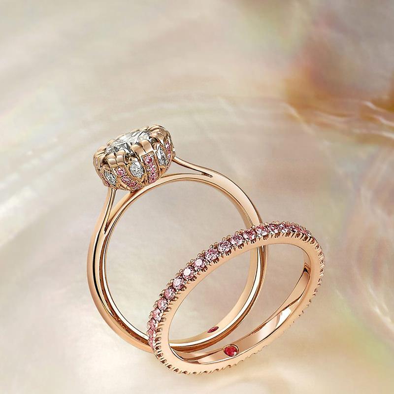 Ocean Diamond Ring