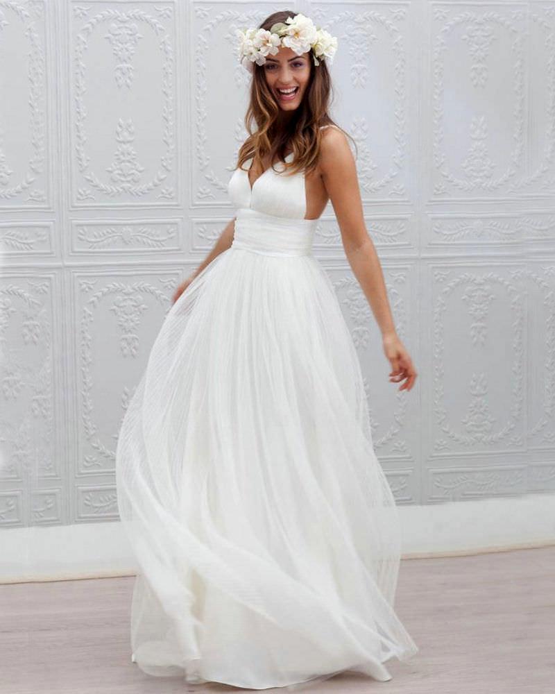 Vestidos simples para casamento
