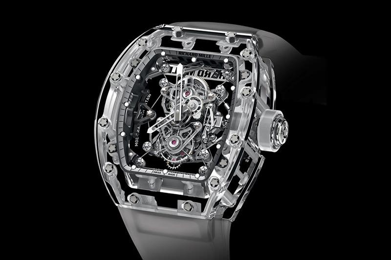 Relógio Richard Mille RM 56-02 Tourbillon Sapphire