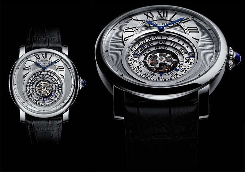 Cartier Astrocalendaire - 150 mil dolares
