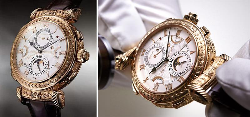Relógio patek philippe grandmaster chime 2,6 milhoes dolares