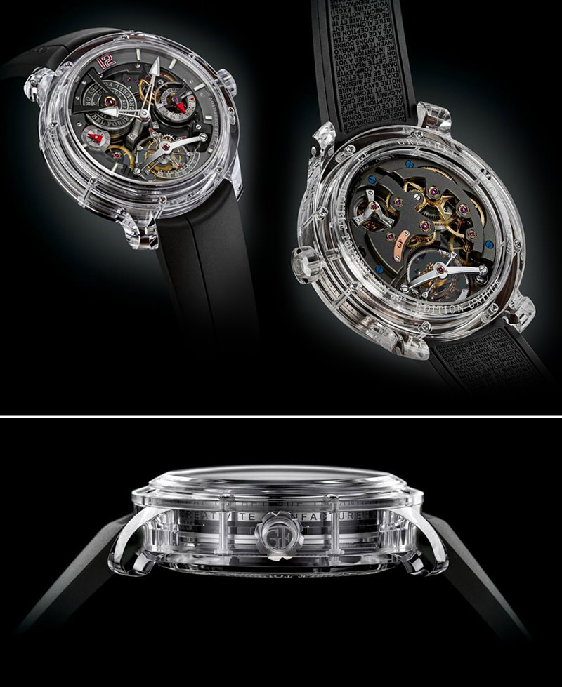 The Greubel Forsey Double Tourbillon 30 Technique Sapph - 1 milhão de dólares