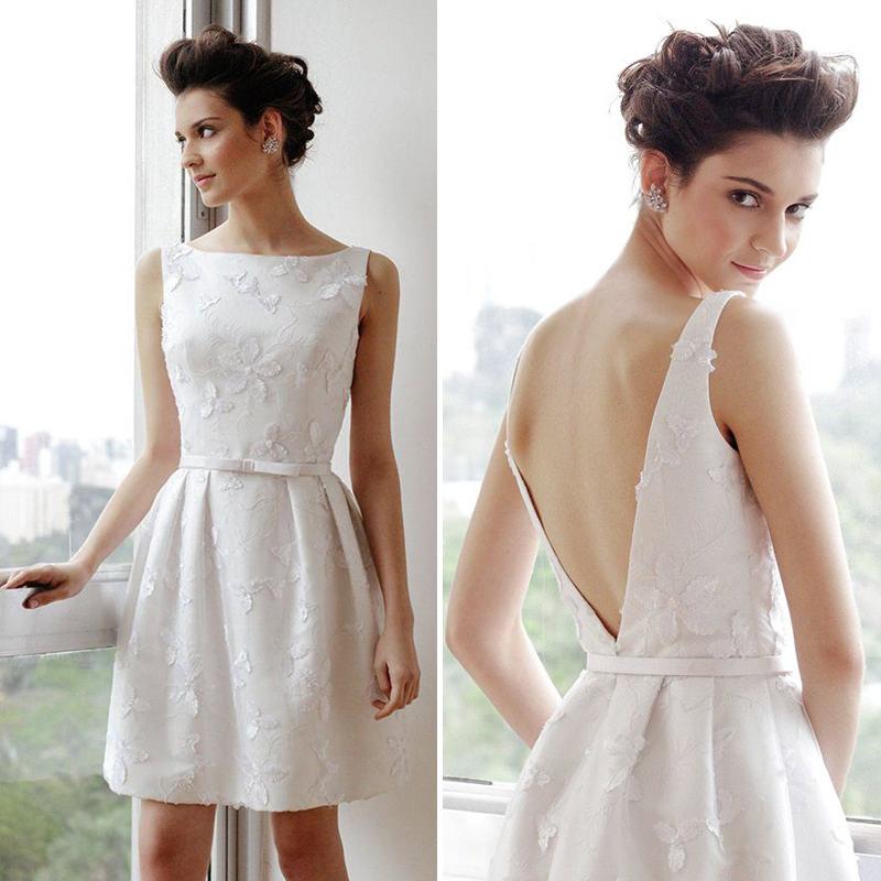 Vestido-de-noiva-curto-estilo-lady-like