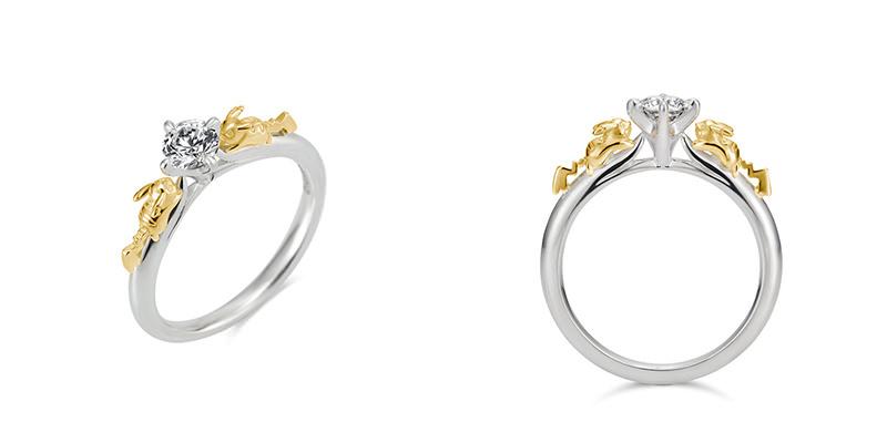 anel-de-noivado-pikachu-pokemon-joia