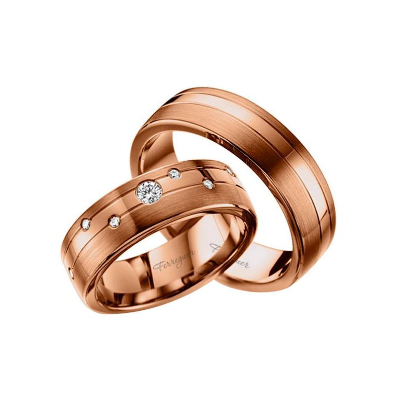 par-de-alianças-diferente-ouro-rose-diamante