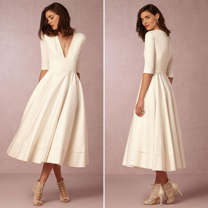 Casamento Apenas No Civil 30 Ideias De Vestido Para A
