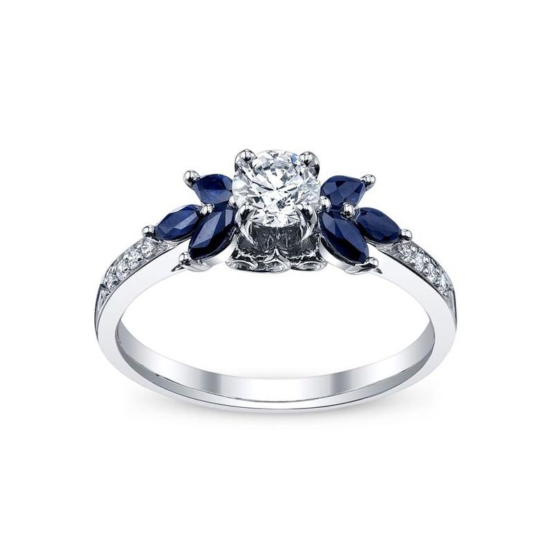 anel-de-noivado-deslumbrante-safira-e-diamante