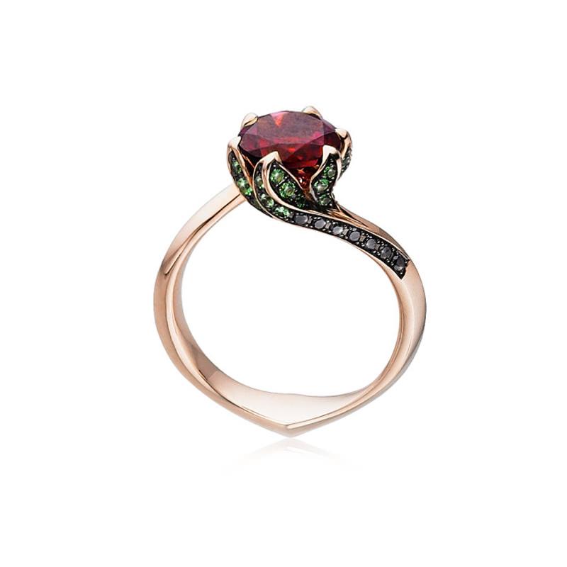 anel-de-noivado-ouro-rose-flor-rubi