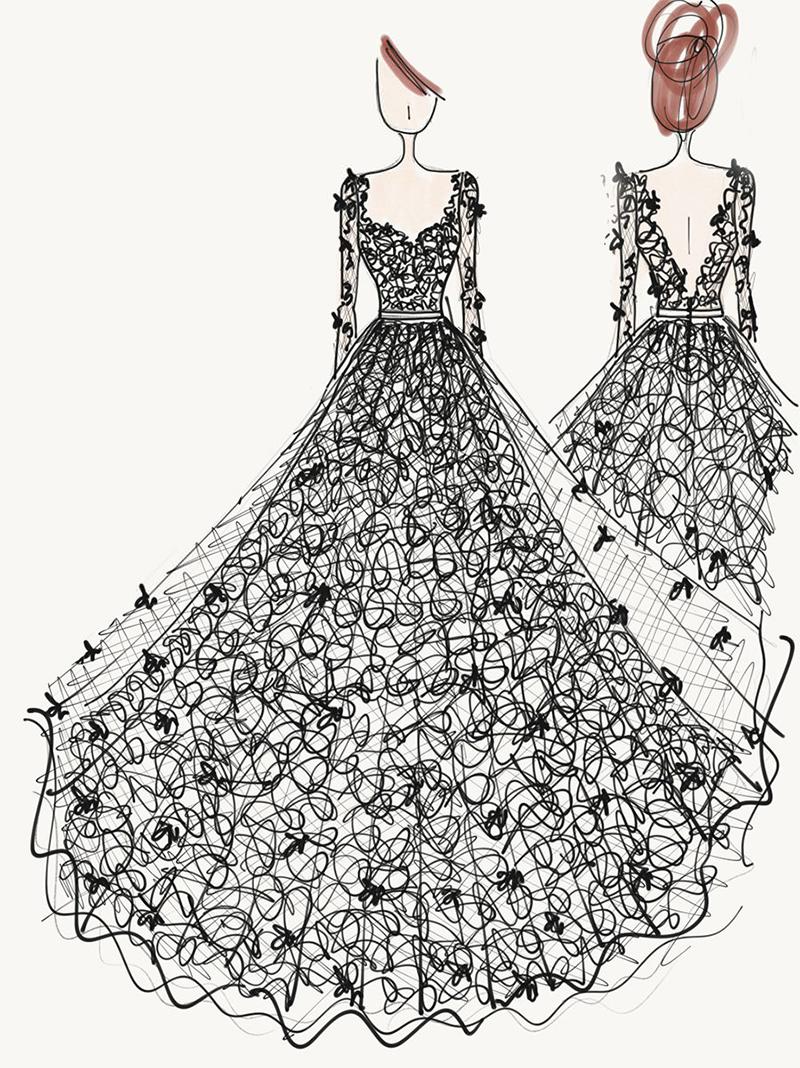 croqui-vestido-de-noiva-Carol-Hungria-renda