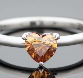 enoivado-diamante-cognac--diamantes-castanhos-anel-de-noivado