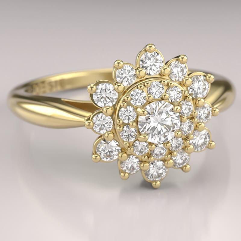 Poesie-joias-anel-de-noivado-sole-ouro-amarelo-diamantes