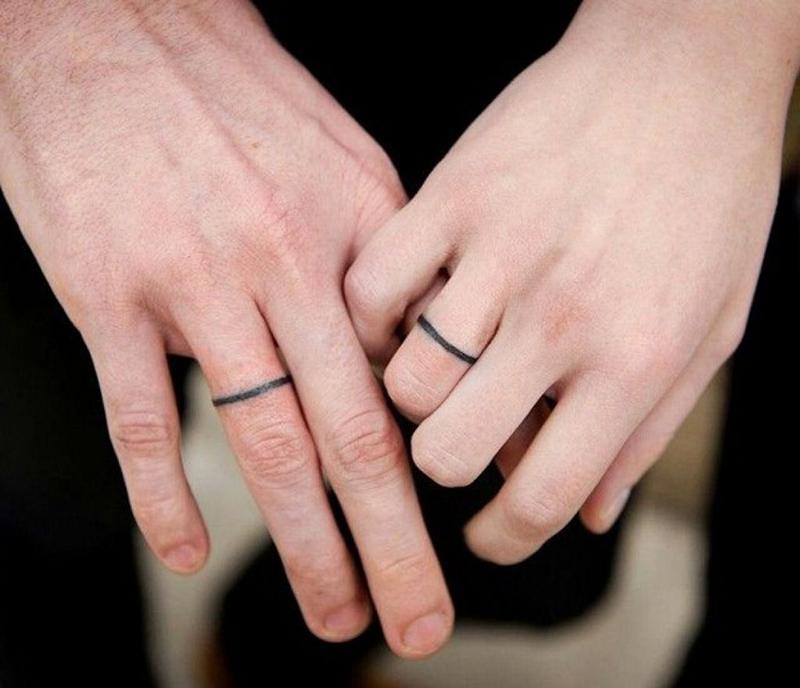 Wedding Ring Design Tattoo