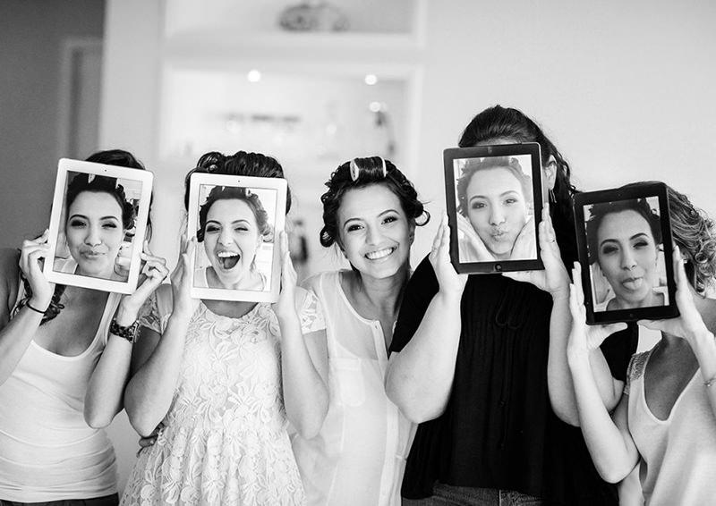 foto-de-casamento-criativa-com-as-madrinhas