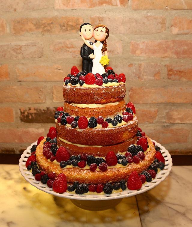Naked cake no casamento noturno, o que vocês acham? - Página 2