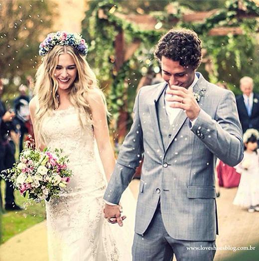 Fiorella Mattheis - Casamento