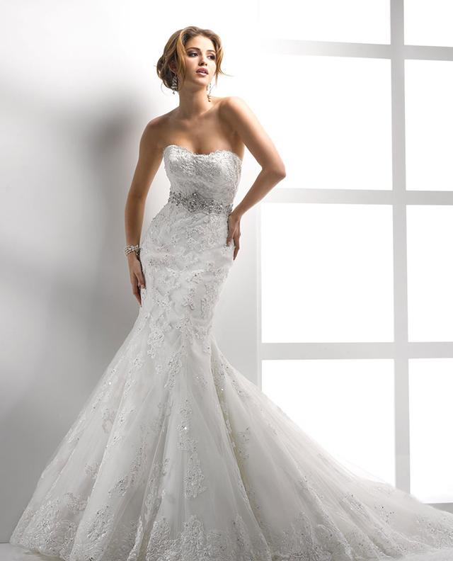 Vestido de noiva para silhueta ampulheta
