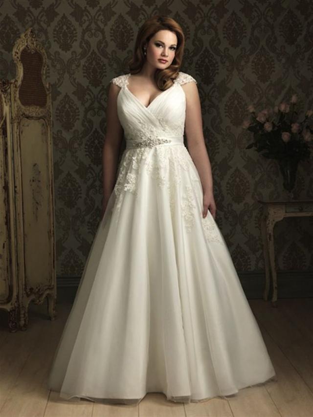 Vestido de noiva para silhueta oval