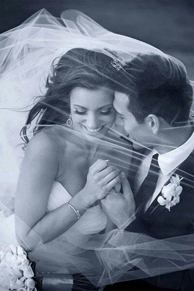 Foto de casamento retrato