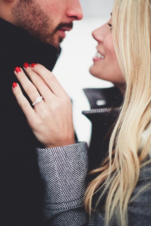 como usar anel de noivado 3
