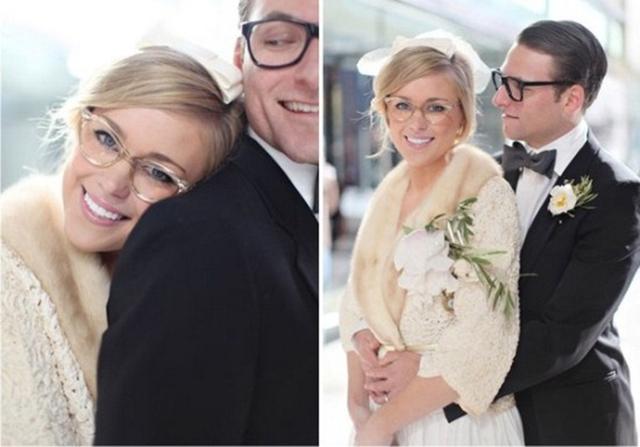 noiva de óculos 6