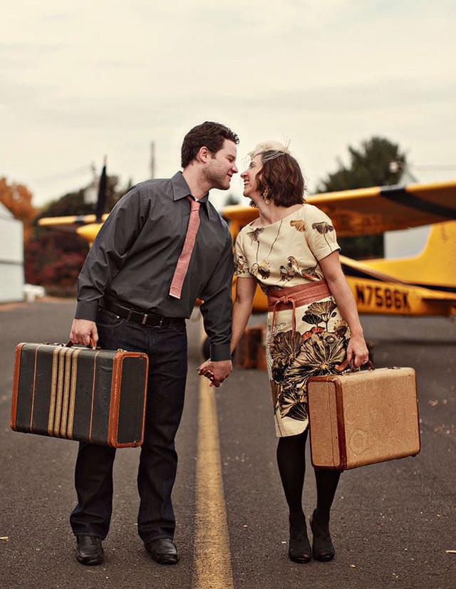 ensaio de noivos viagem