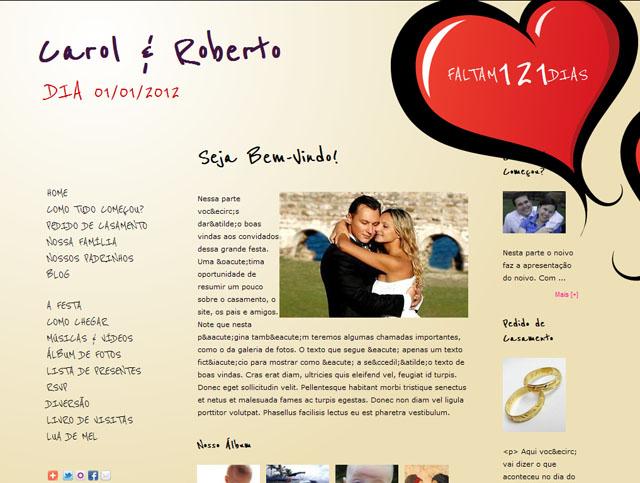 site de casamento10