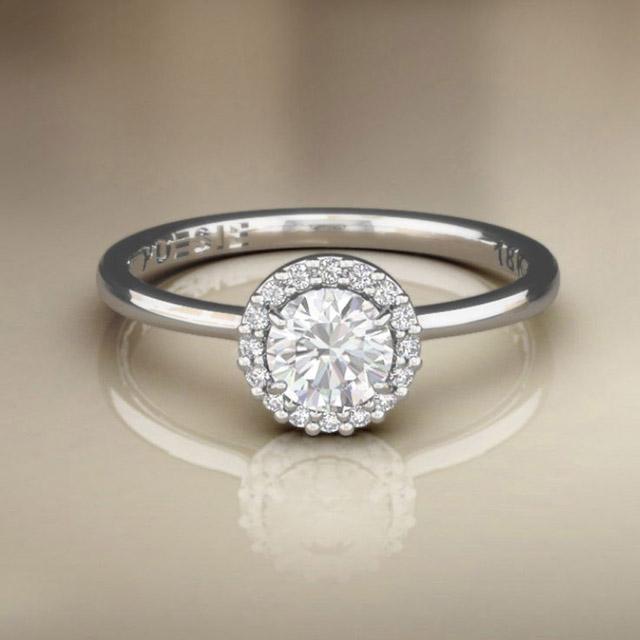 anel solitario
