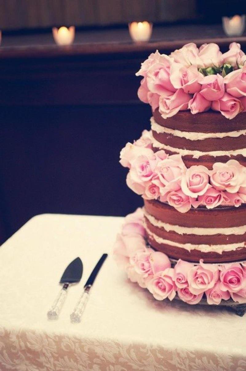 121 naked cake