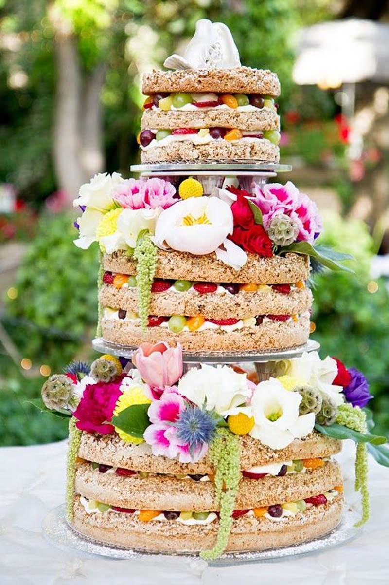126 naked cake