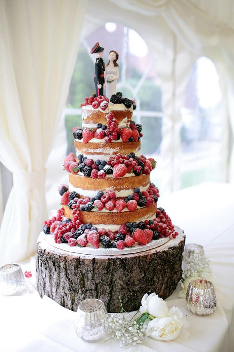 13 naked cake