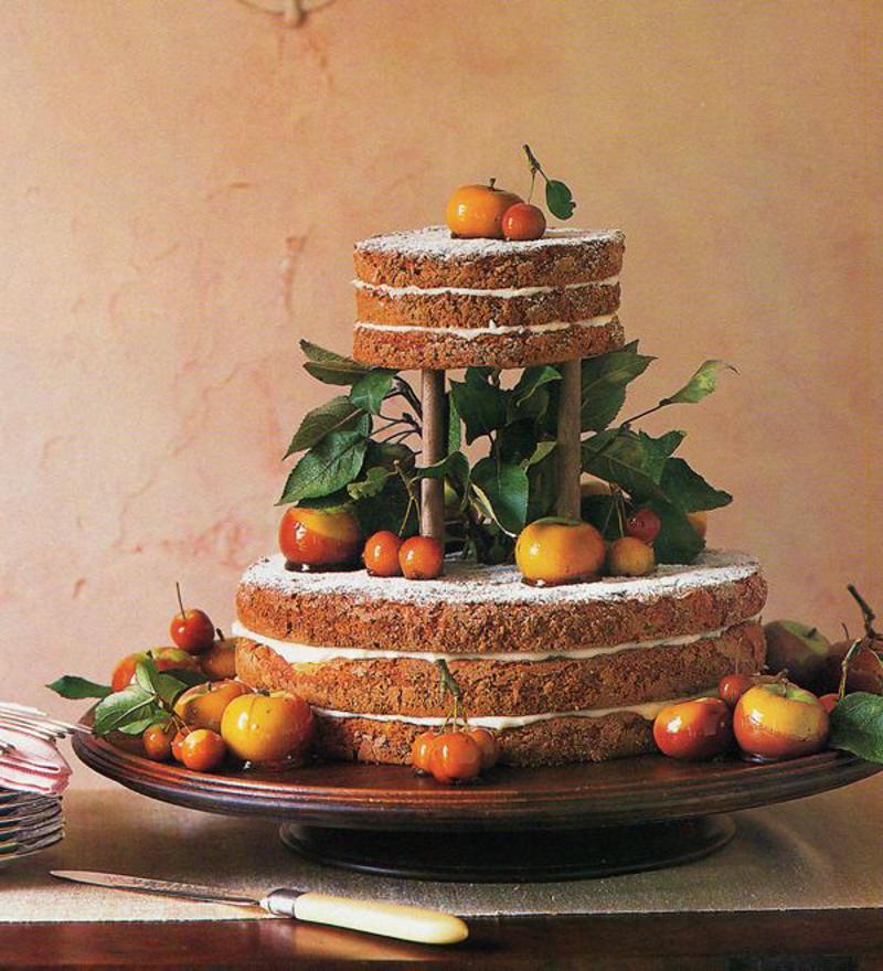 137 naked cake