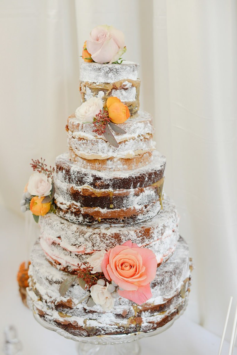 138 naked cake