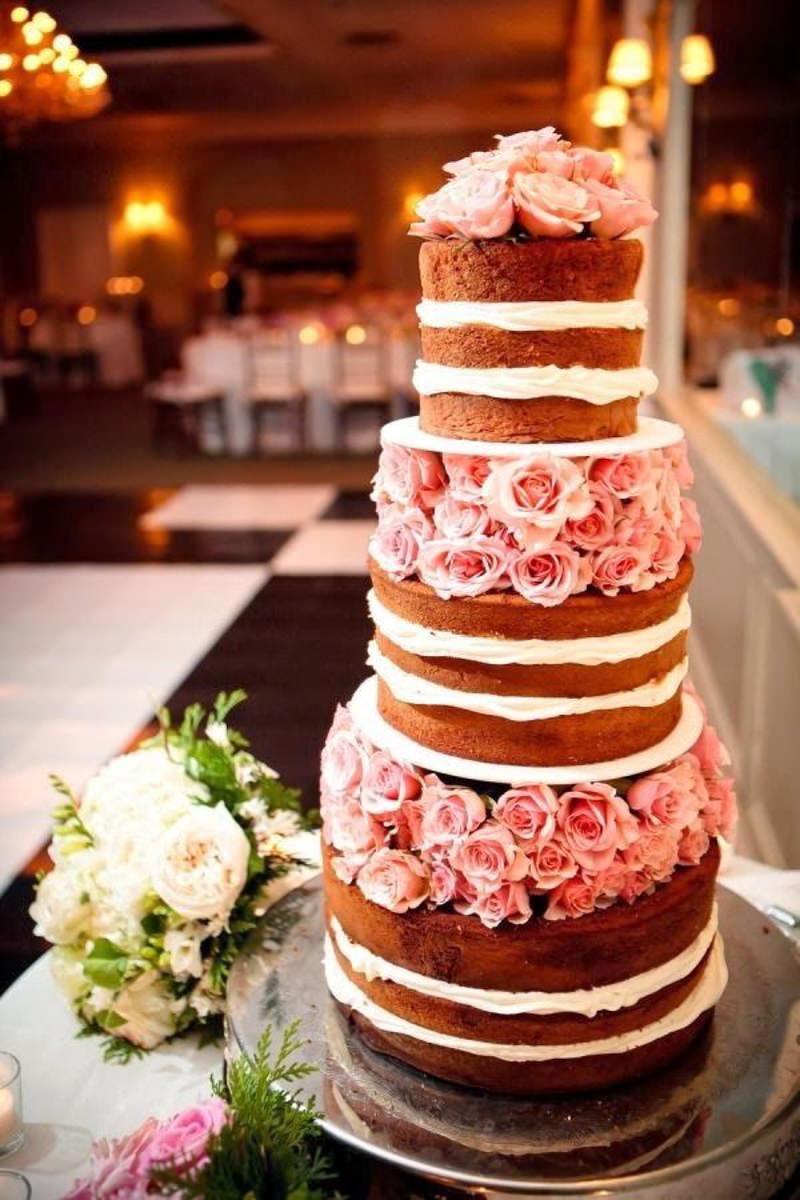 17 naked cake