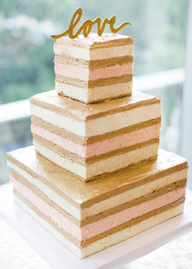 35 naked cake