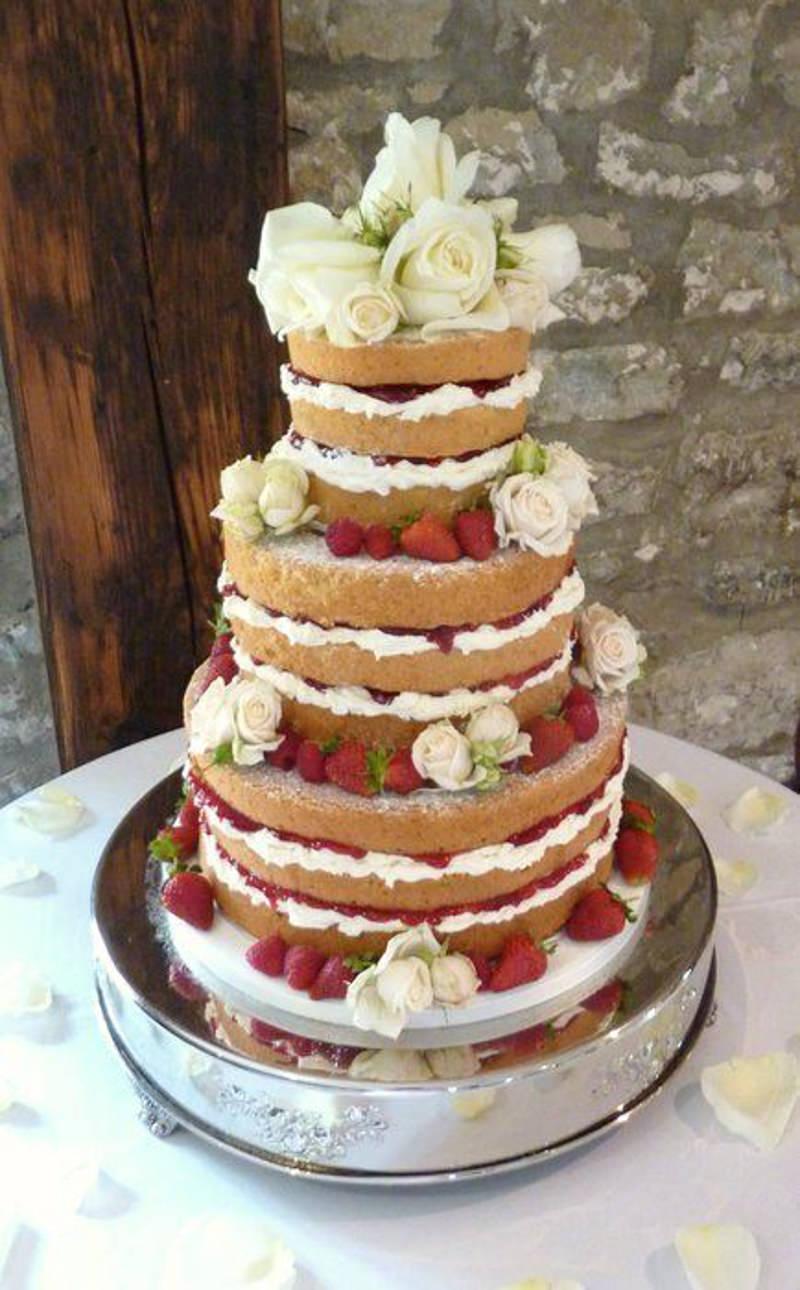 45 naked cake