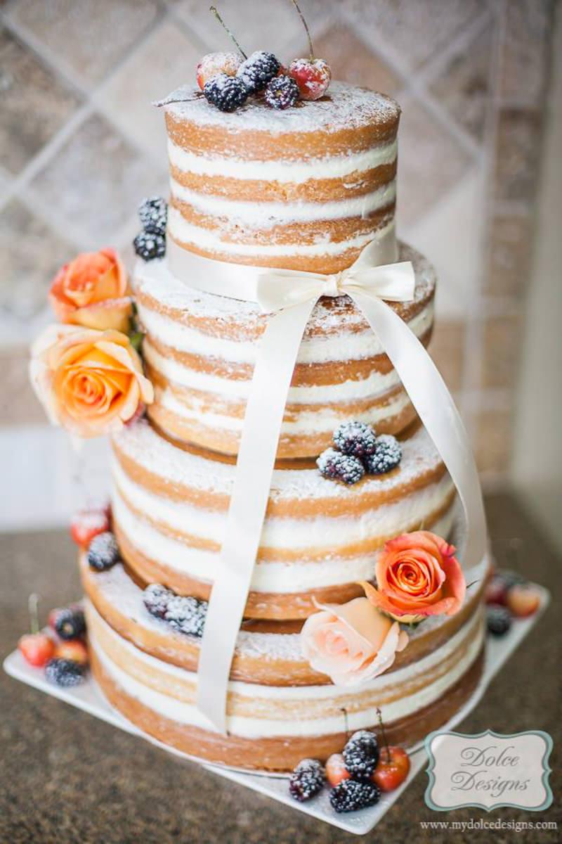 58 naked cake