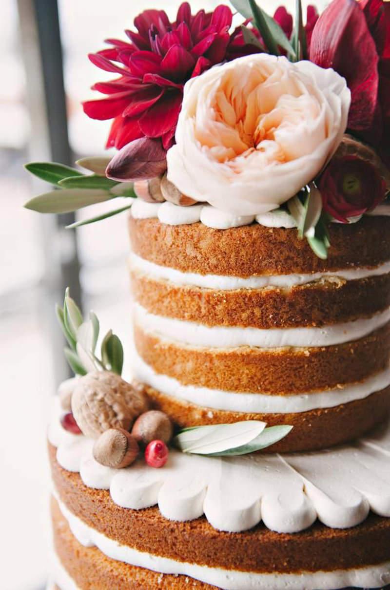 61 naked cake