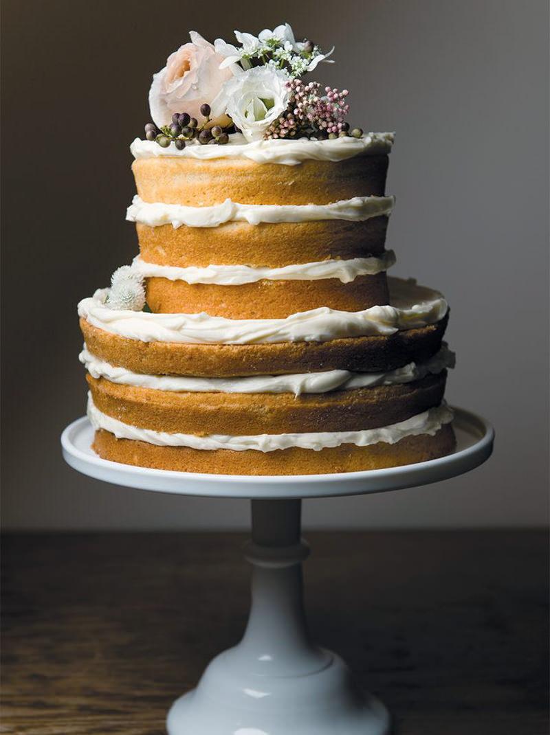65 naked cake