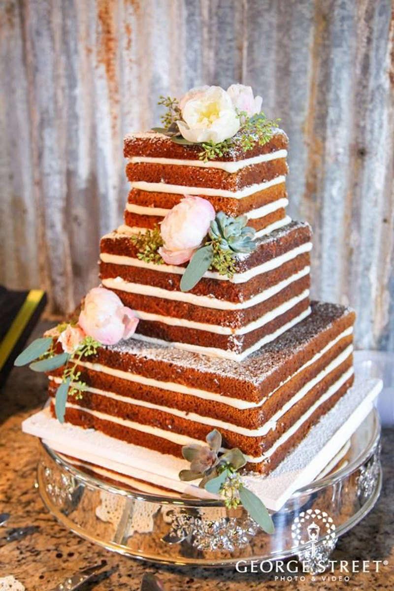 70 naked cake