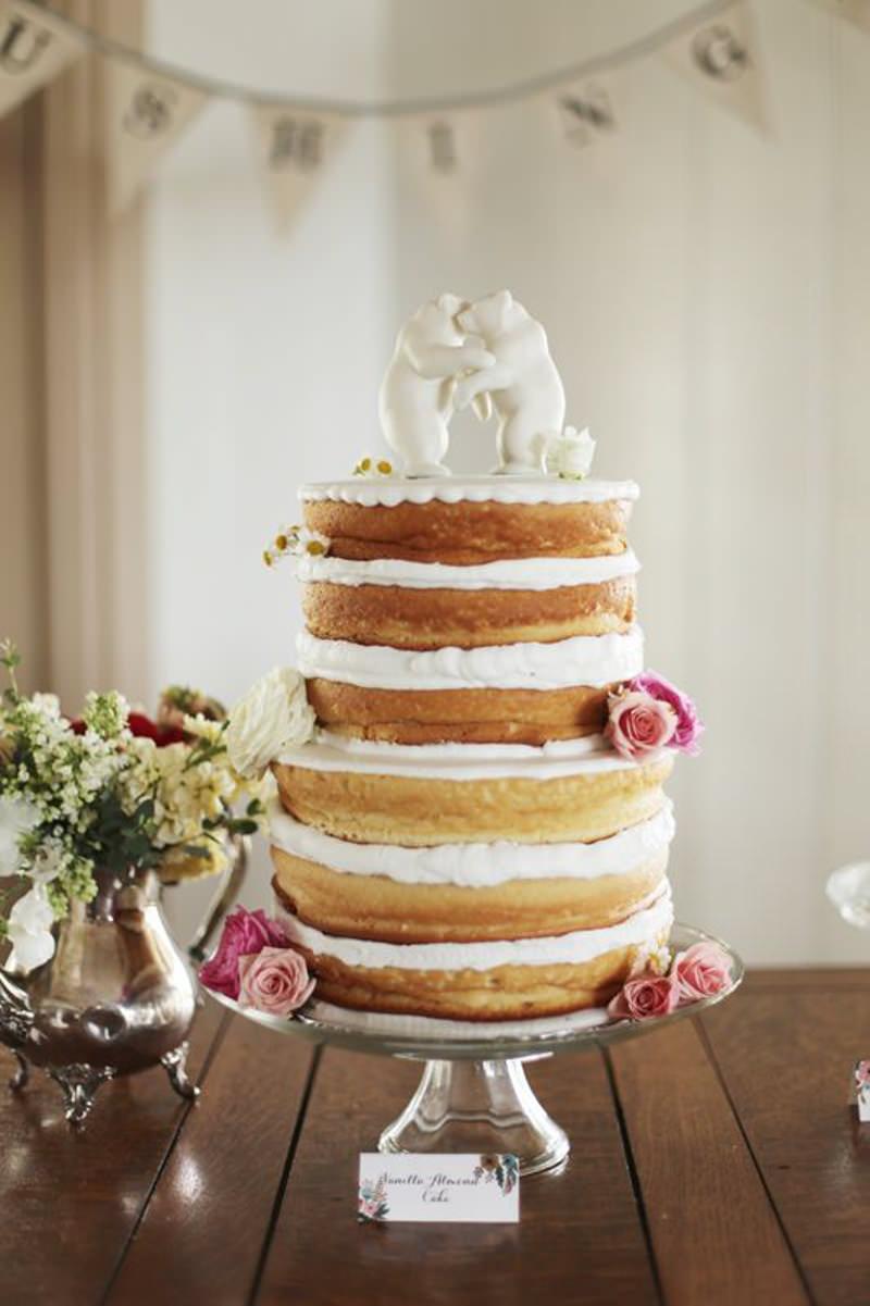 78 naked cake