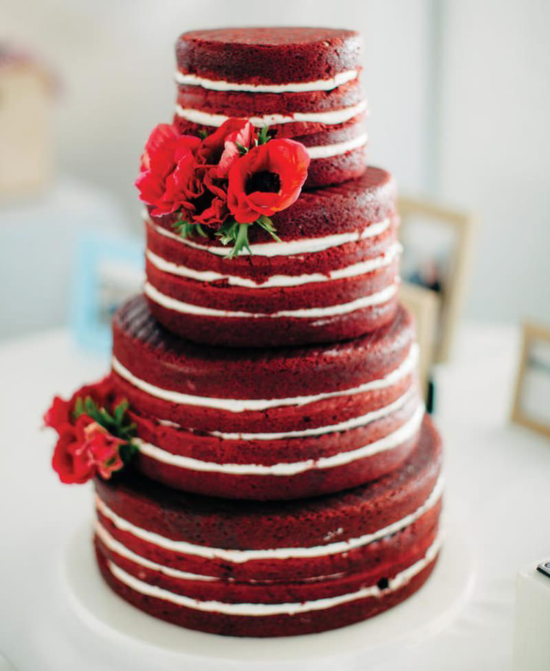 97 naked cake