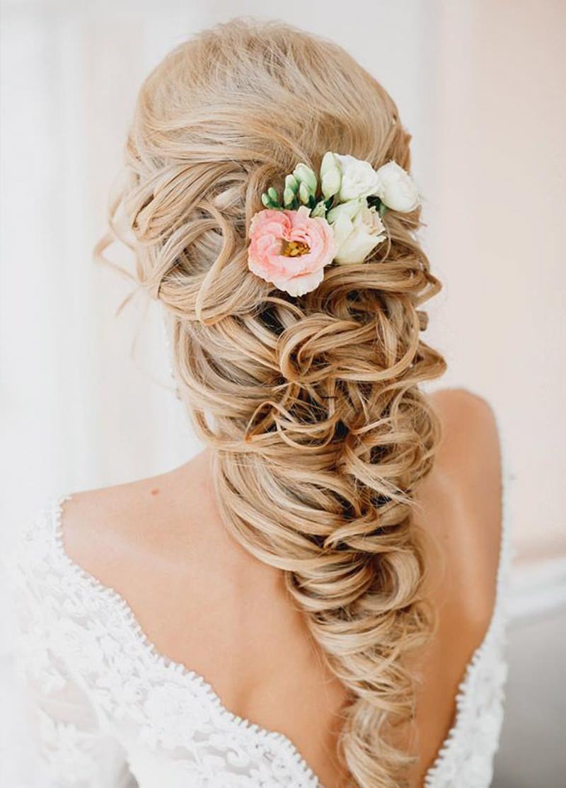 Resultado de imagem para penteado de noiva cabelo trançado