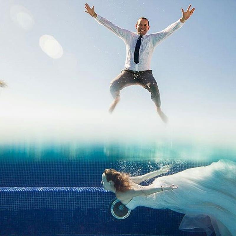 pulo-casal-mergulho-ensaio-trash-the-dress