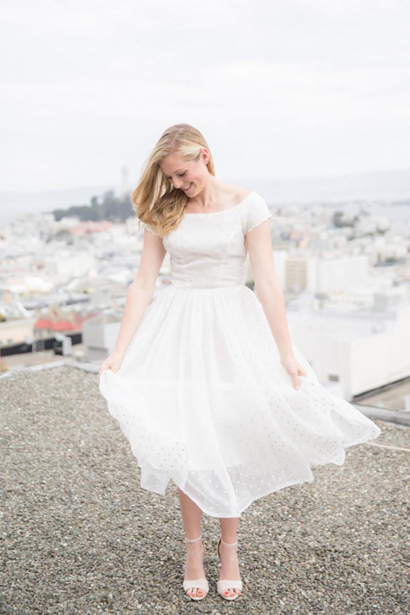 Esta Garota Fez Um Belo Ensaio Pré Wedding Usando Vestido De