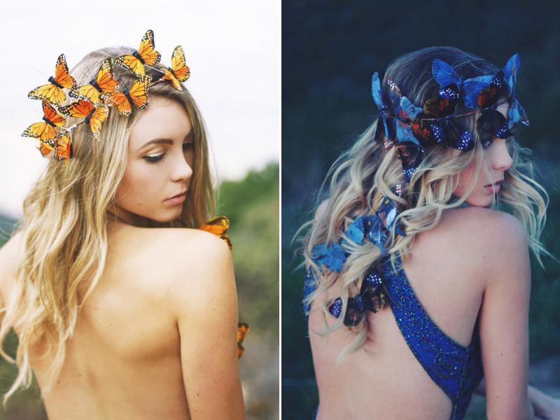 10-casamento-campo-boho-rustico-noiva-acessorio-cabelo-borboletas