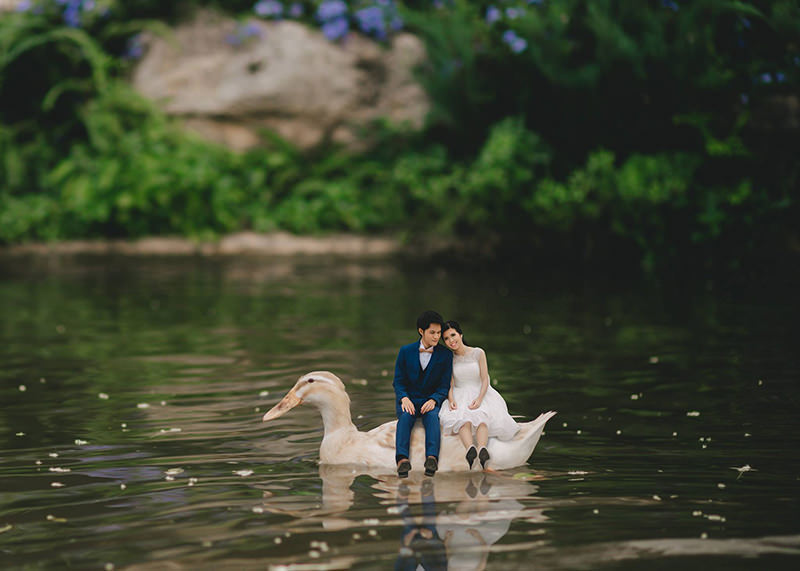 ensaio-divertido-casamento-mini-noivos