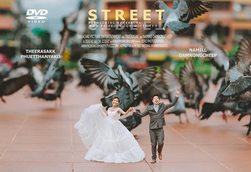 fotos-casamento-mini-casal-noivo-noiva-ataque-pombos